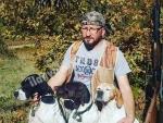 Avı ile kanı ile sağlam Pointer Yetişkin ve yavru köpekler