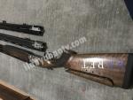 Beretta 682. Üç namlu 81cm 76cm 71 cm mobil şoklu full set