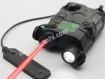 Taktiksel tüfek fener ve lazer bir arada PEQ15